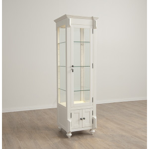 Double Sided Curio w/ Glass Door